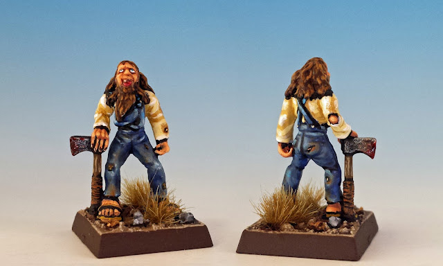 Hillbilly, Citadel Gothic Horror (sculpted by Aly Morrison, 1986)