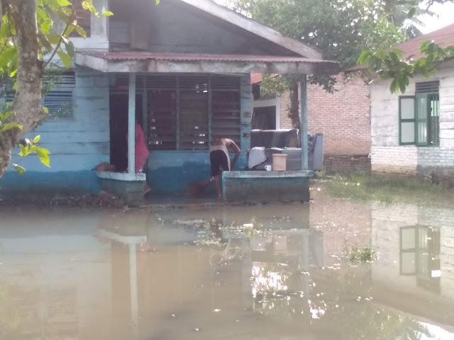 Berikut Jumlah Kepala Keluarga Yang Terdampak Banjir Di Kabupaten Langkat