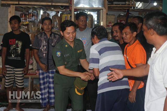Hadiri Tasyakuran Relokasi Pasar Pon, Cak Ipin Minta Ada Empati Antar Pedagang