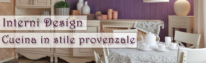 Relasé: Interni Design: idee per la cucina in stile provenzale