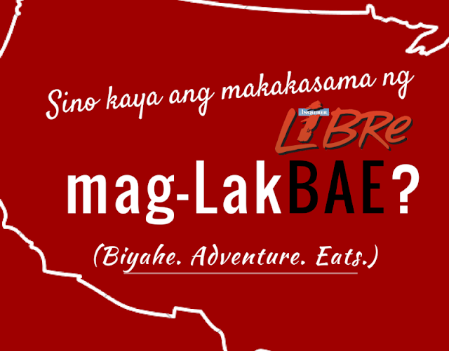 Your ticket to fame - Inquirer Libre LakBAE host