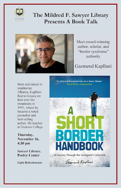 Gazmend Kapllani discusses A Short Border Handbook: A Journey Through the Immigrant's Labyrinth