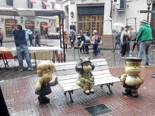 Mafalda, San Telmo, Buenos Aires