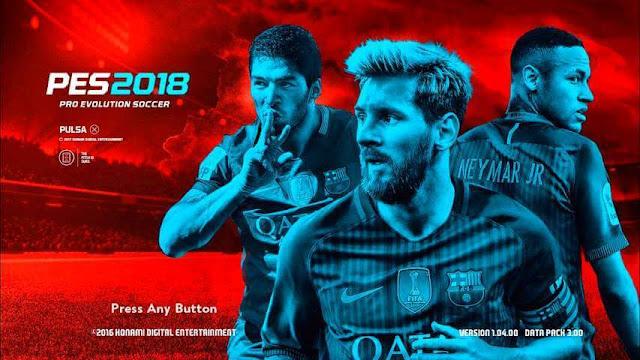 PES 2018 MSN Start Screen PES 2017