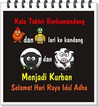 gambar 3 kartun kata kata selamat idul adha terbaru 2012