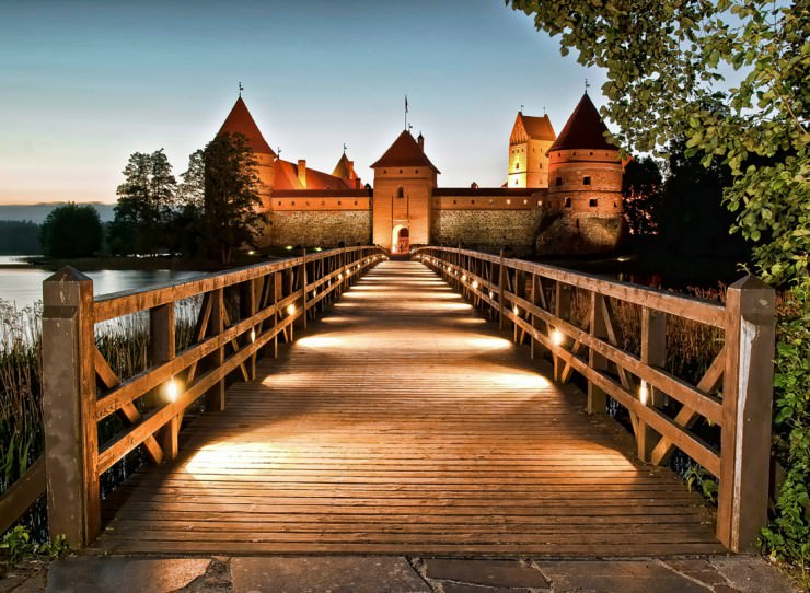 Top 11 Ancient Towns and Villages - Trakai Island, Lithuania