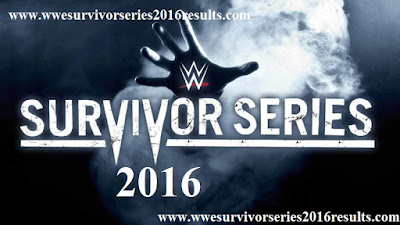 Survivor Series 2016 Results