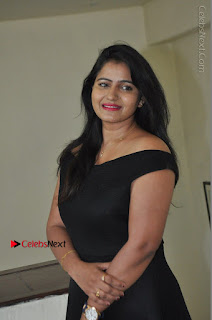 Telugu Actress Swathi Reddy Latest Stills in Black Gown  0046.JPG