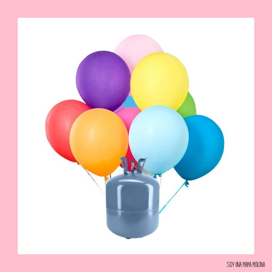 Soy una mama molona helio para globos - Llenar globos con helio ...