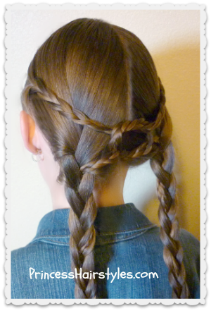 Equestrian Braids Hairstyle Tutorial