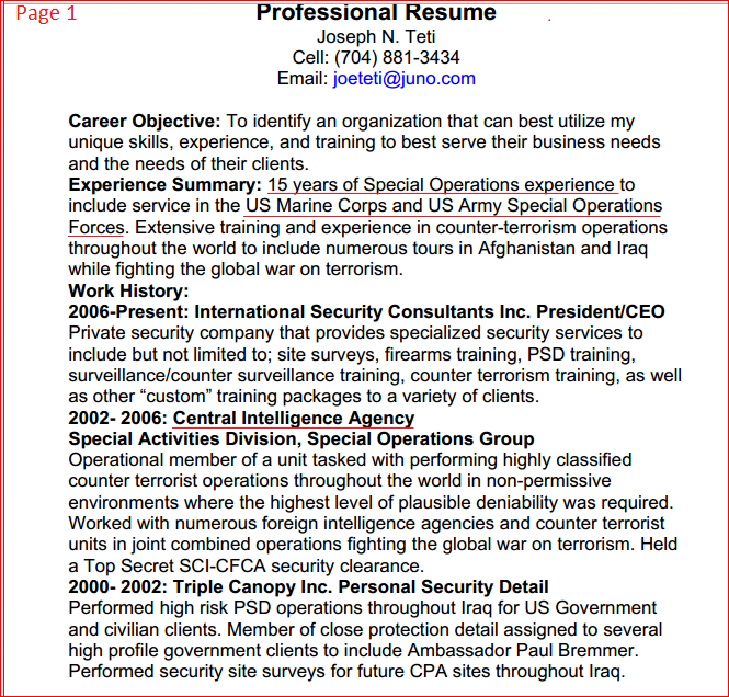 Resume Include Military Experience. six easy tips to create a ...