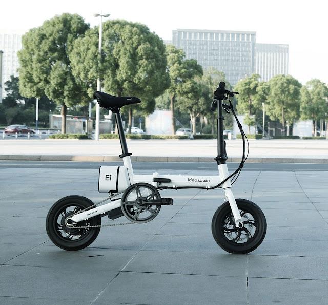 Xe đạp gấp trợ lực ideawalk F1
