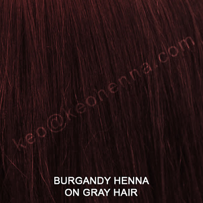 Burgandy Henna Hair Color On Gray Hair