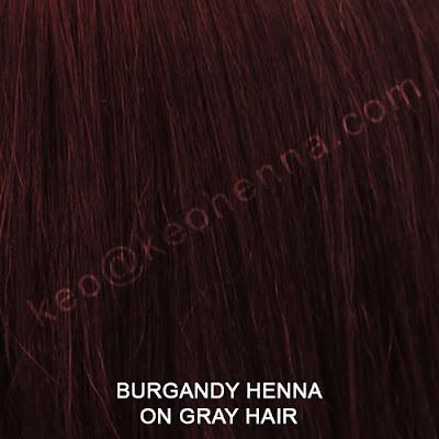 Burgandy Henna Hair Color On Gray Hair
