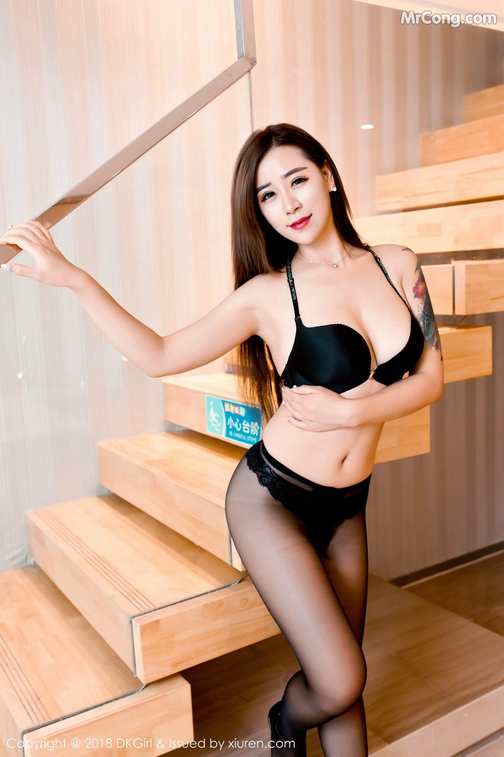 Image DKGirl-Vol.086-Cier-MrCong.com-008 in post DKGirl Vol.086: Người mẫu 雪儿Cier (47 ảnh)