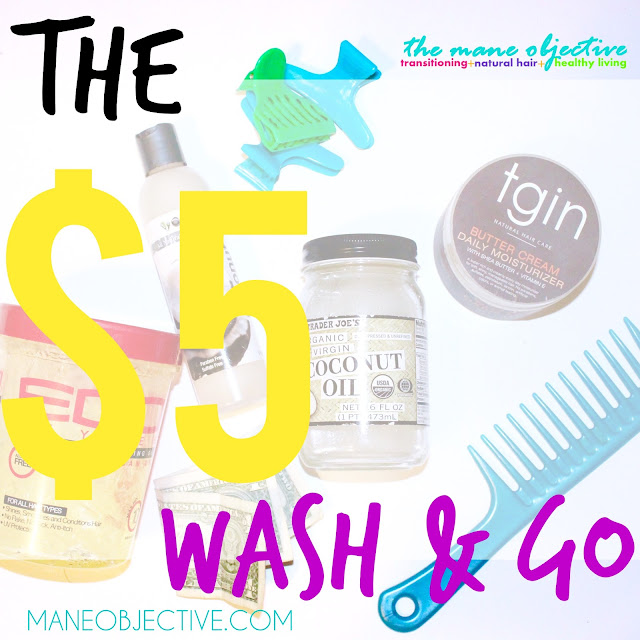 Get Ready for Summer with the 5 Dollar Wash and Go for Natural Hair