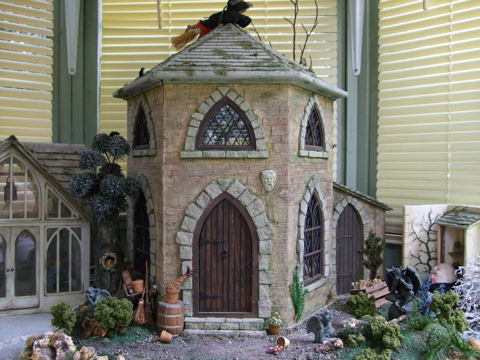 Michelle S Mad World Witches House My First Project