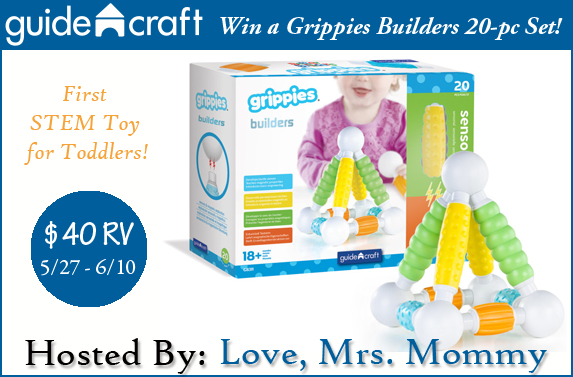 Guide craft Grippies STEM TOY GIVEAWAY