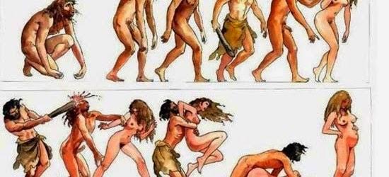 Η εξέλιξη του ανθρώπου by Milo Manara