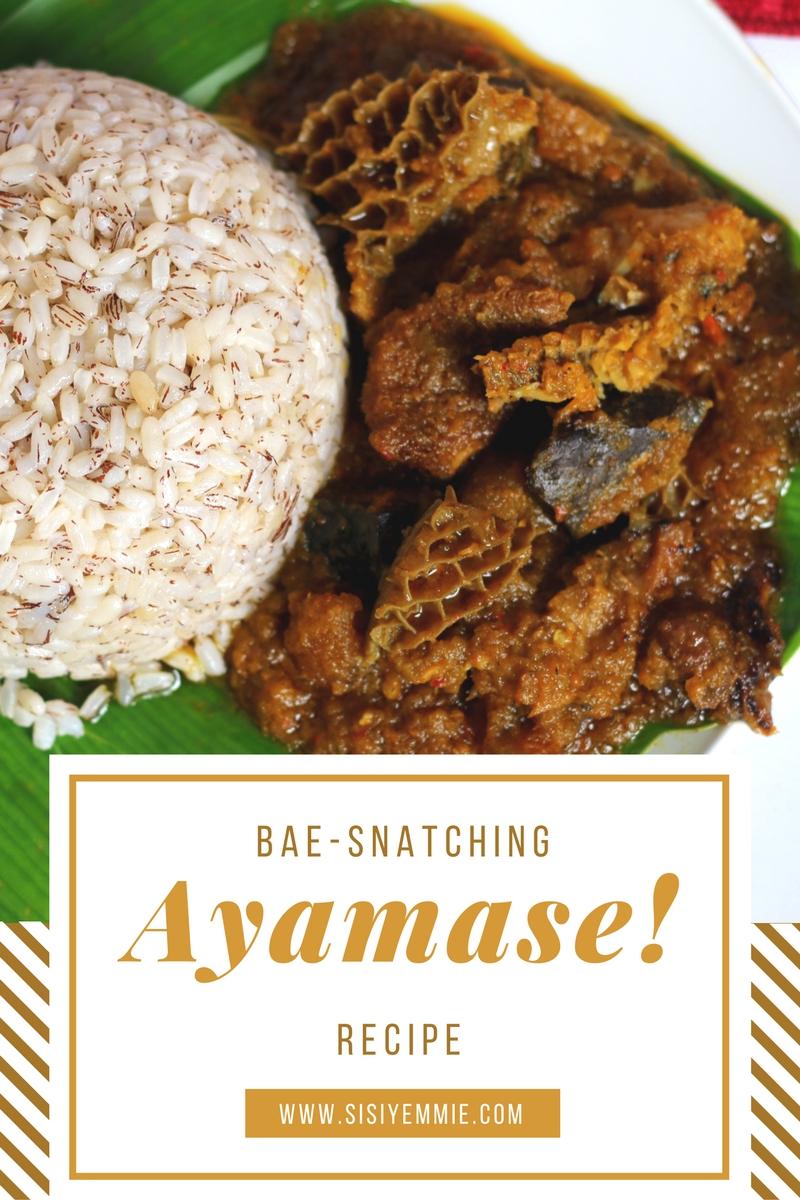 Ayamase ofada stew bae snatching recipe sisiyemmie nigerian ayamase ofada stew bae snatching recipe forumfinder Images