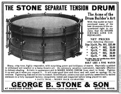 1920 Geo. B. Stone & Son Advertisement