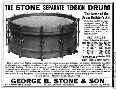 1920 Geo. B. Stone & Son Advertisement