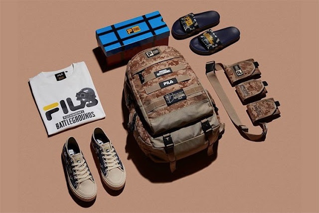 Get Dressed For Chicken Dinner With Official PUBG Merchandise by Fila