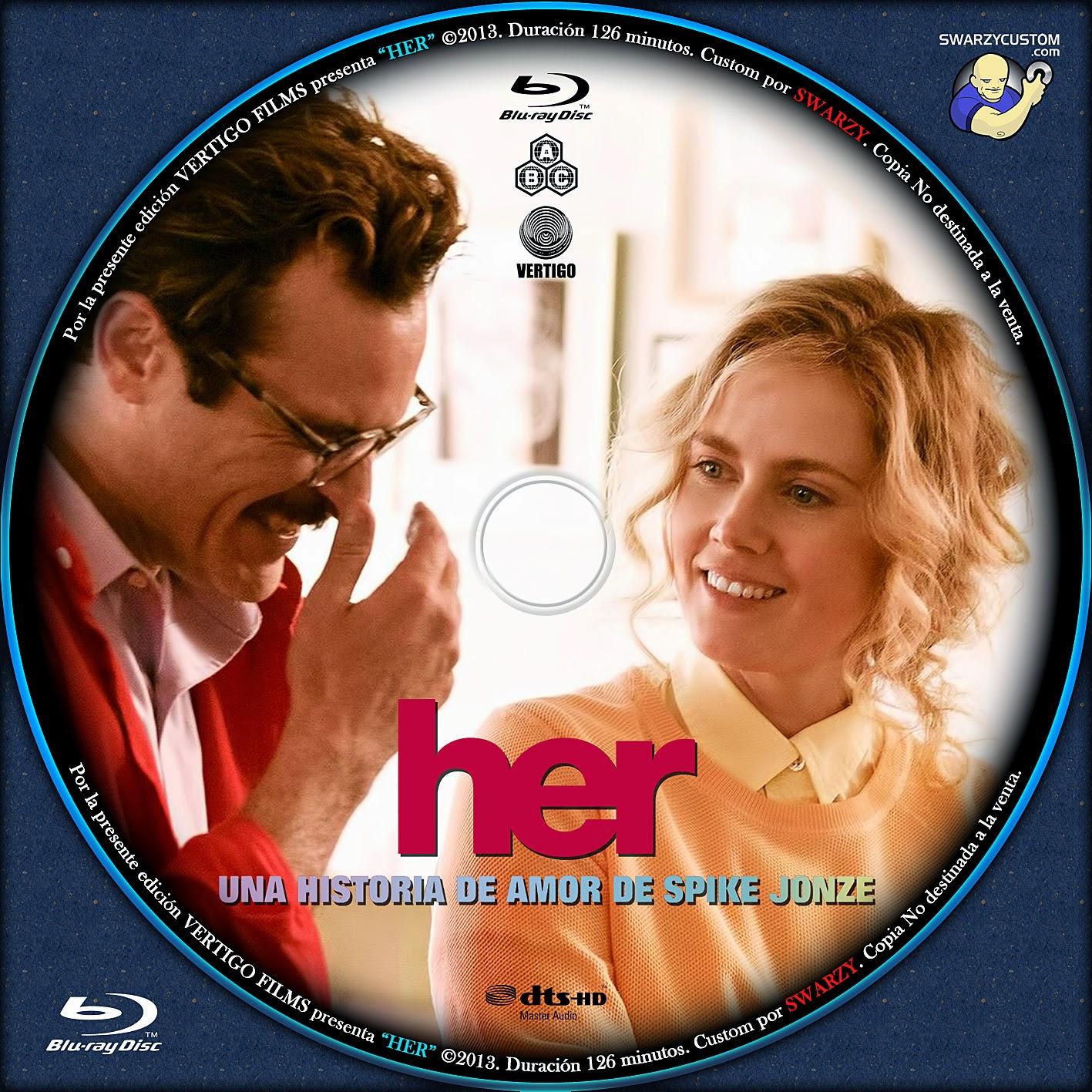 Her 2013 DVD COVER - CoverDvdGratis