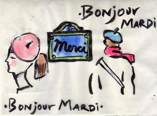 The Beret Project Bonjour Mardi