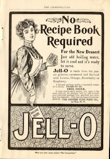 Vintage Advertising Very Early Jello Ads 1902 1916
