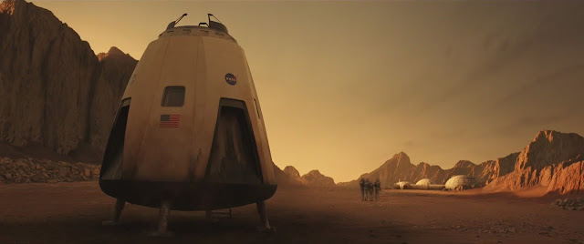 The Space Between Us Mars movie image - lander