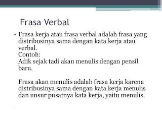 Frasa Verbal