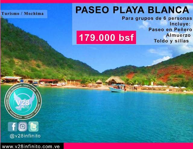 imagen Paseo Playa Blanca Mochima