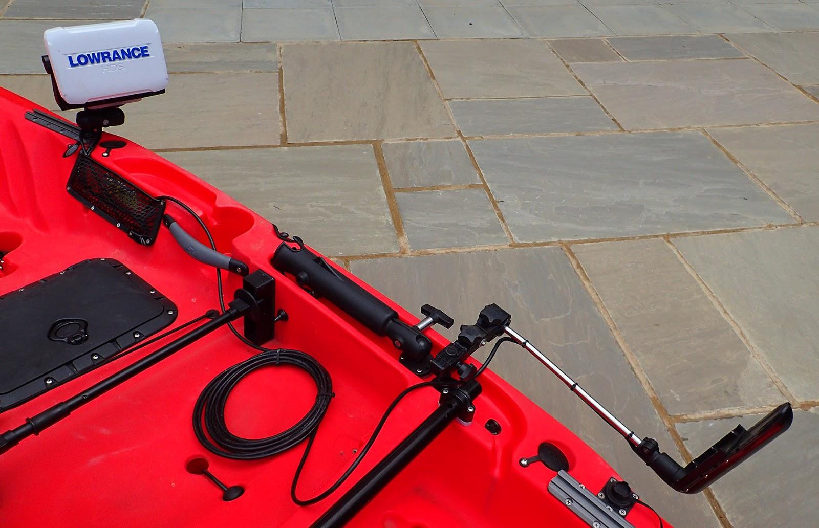 Saltwater kayak fisherman: UPGRADE - Lowrance TotalScan All-In-One