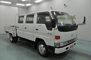 1997 Toyota Dyna 2ton triple cab for Tanzania