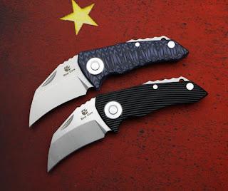 Bear Claw Parrot Knife