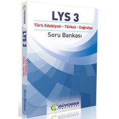 Güvender LYS 3 Türk Edebiyatı, Türkçe, Coğrafya Soru Bankası