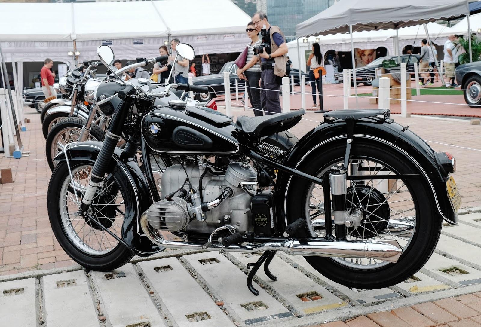 BMW Vintage Motorbike R68