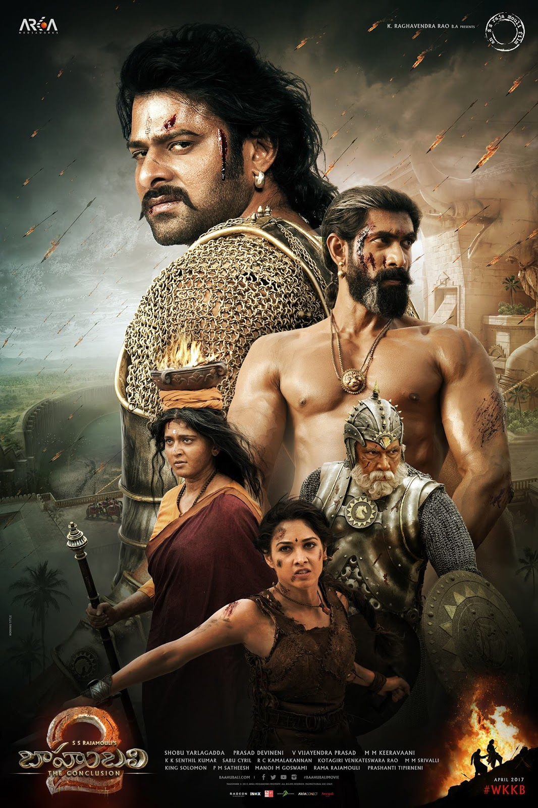 Wallpaper download bahubali 2 - Prabhas_latest_still Bahubali_final_part_poster