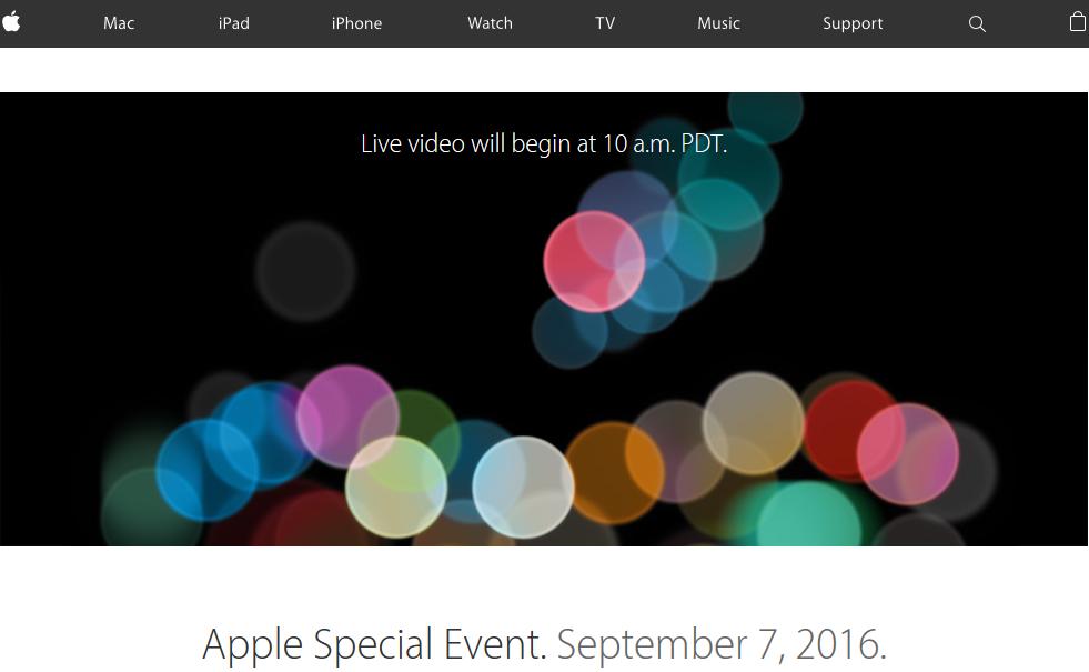 Nuovi iPhone 7: come seguire la Diretta Streaming di presentazione da qualsiasi dispositivo e Sistema operativo HTNovo