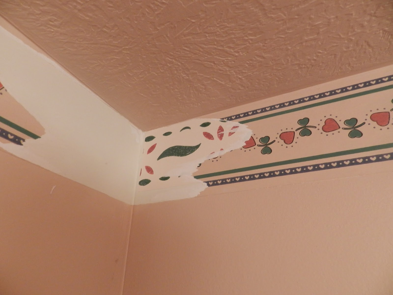 painting over wallpaper border  Home Depot Wallpaper Borders | Wallpaper Home