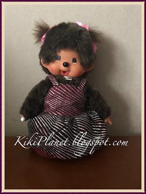kiki monchhichi robe soirée couture vêtement handmade fait main
