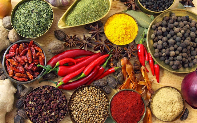 indian spices wallpaper