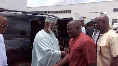 Gen Abdusalami Abubakar Visits Innoson Motors In Nnewi, Anambra State. Photos