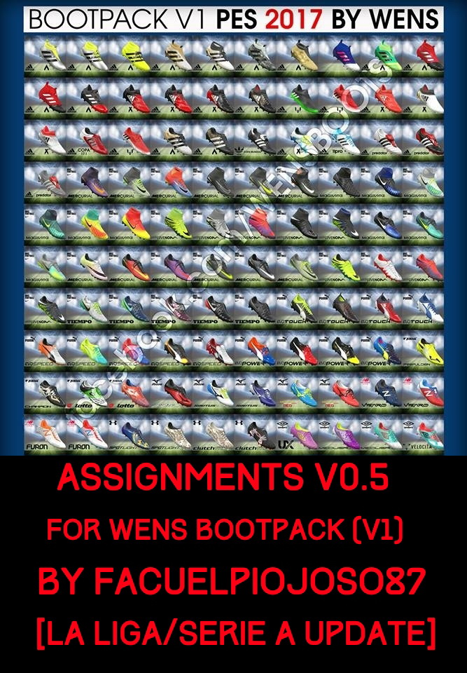 Assignments v0.5 for WENS Bootpack (v1)
