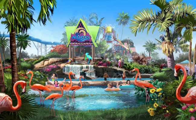 SanDiegoVille: SeaWorld's Aquatica Waterpark Set to Make a