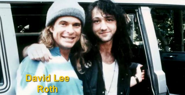 Jason Becker y David Lee Roth