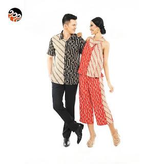 Baju Batik Keris Couple Terbaru