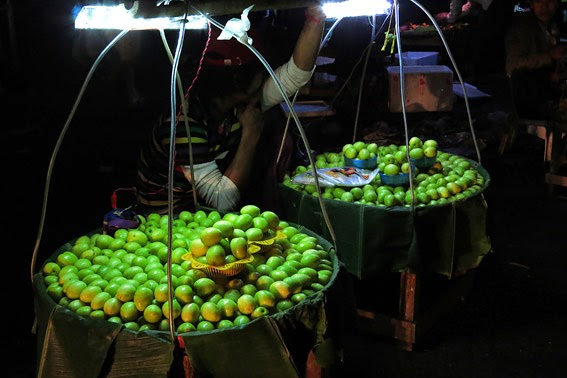 Myanmar night market's are everwhere