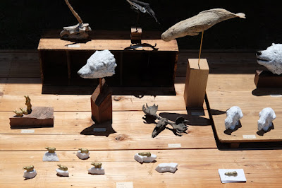 松本クラフトフェア2017 三瓶祐治さんの木工作品